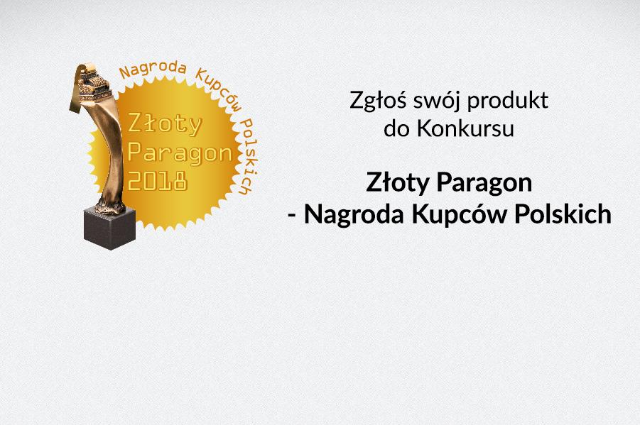 Jak zgłosić produkt do Konkursu Złoty Paragon 2018