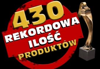 430 produktów zgłoszonych do konkursu Złoty Paragon 2013 !